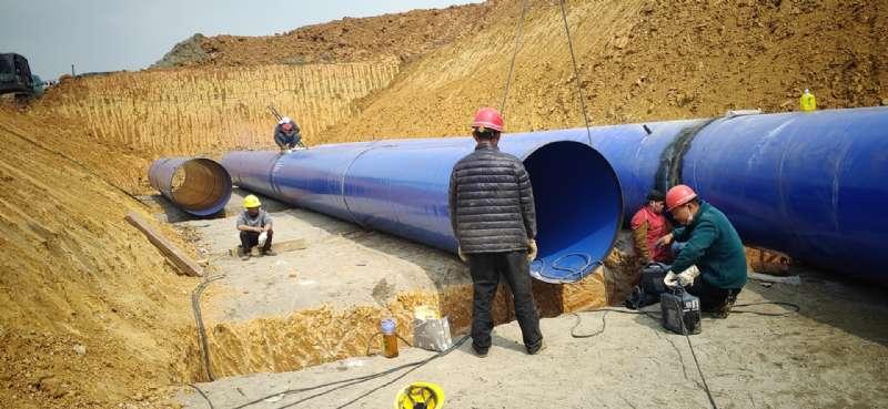 成都市大學生運動會-北部水廠大口徑涂塑鋼管(圖4)